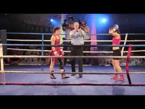 Gladiators II Championnat de france Boxe Anglaise Poids Plume Ducastel Pencheva stereo  YouTube