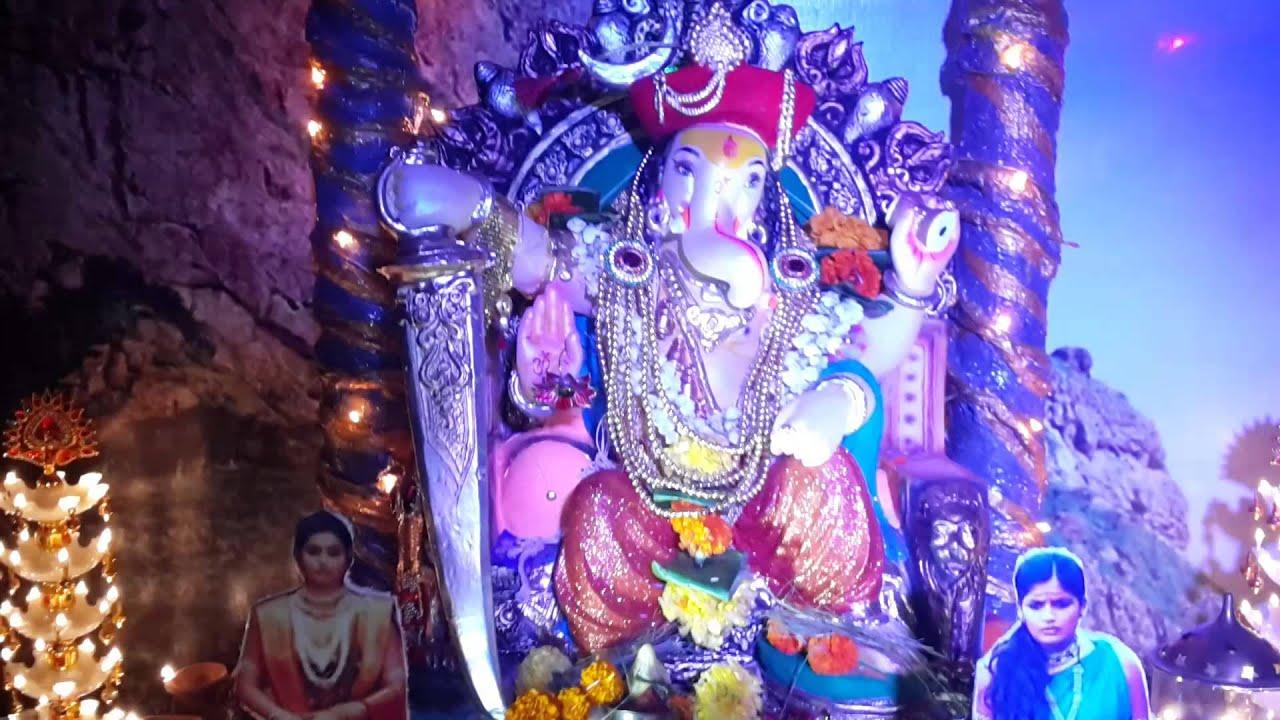 Jai malhar theme home decoration youtube for Decoration ka photo