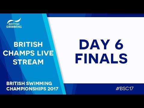 British Swimming Championships 2017 - Day 6 Finals