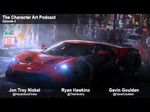 The Character Art Podcast #3: Ryan Hawkins
