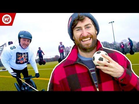 Scott Rogowsky Shows You Weird Sports | Segway Polo