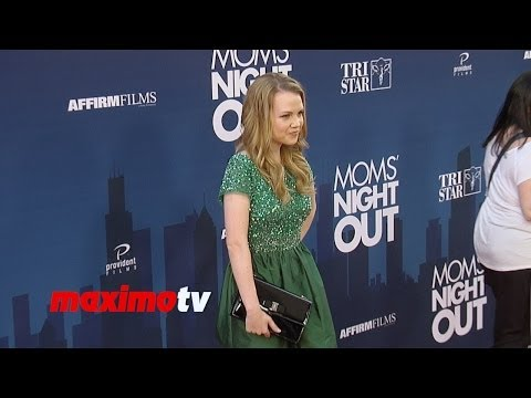 "Abbie Cobb ""Moms' Night Out"" Premiere Red Carpet Arrivals"