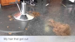 I got my hair thinned| Sarah
