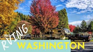 RV Camping in Washİngton State | Visiting Wenatchee & Leavenworth
