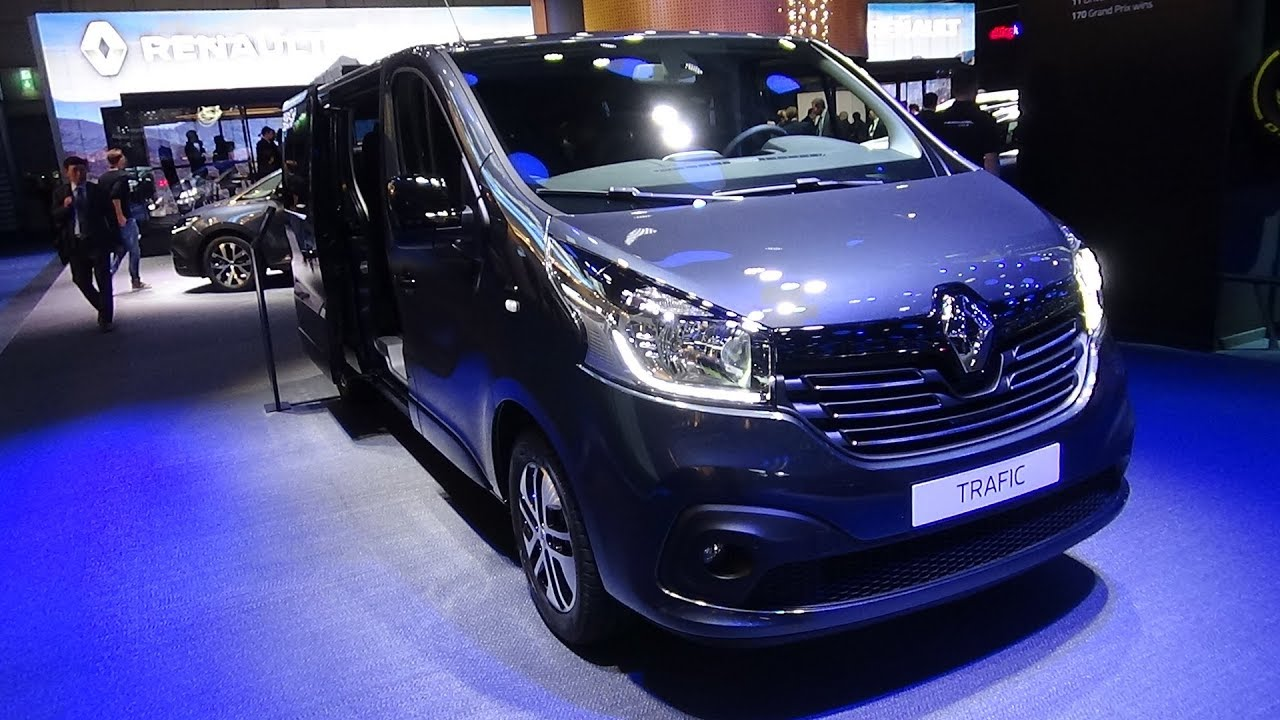 2018 Renault Trafic Combi Grand Spaceclass Exterior And