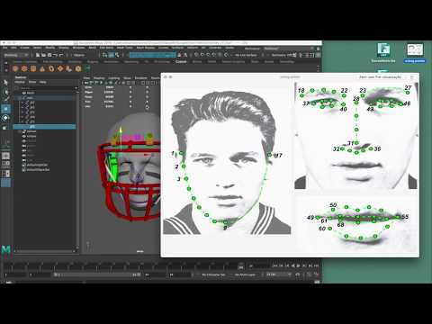 DEEPAR - JOINT RIGGING AN ONLINE PURCHASED 3D MODEL NFL HELMET - VIDEO TUTORIAL