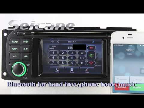 2002 2003 2004-2007 Jeep Liberty Stereo Upgrade To Aftermarket Car Bluetooth In Dash DVD Player