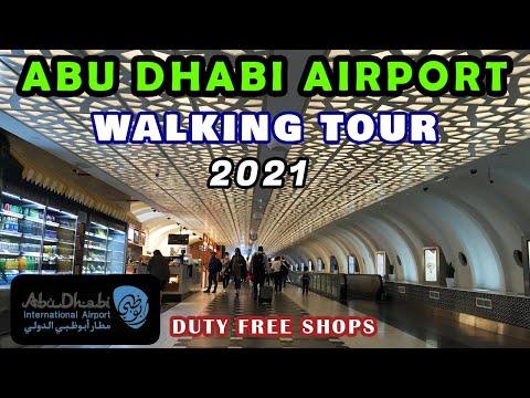Abu Dhabi International Airport   Walking Tour   Duty Free Shops   Latest Video