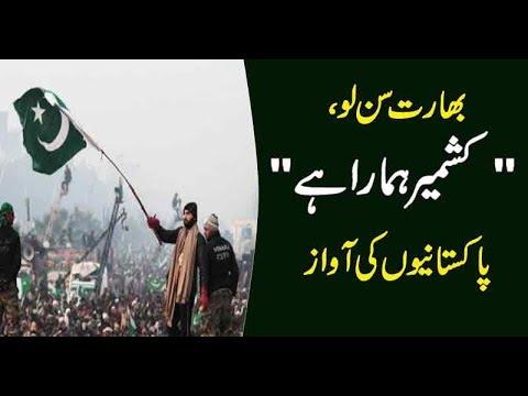 Kashmir is the part of Pakistan, Voice of Pakistani | Kashmir Day | #Kashmiris |