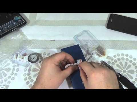 Вынимаем лишние звенья из браслета Керамических Часов из Китая