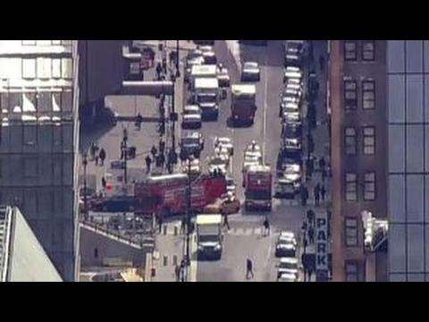 Amtrak train derails near Penn Station in NYC