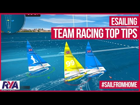 TEAM RACING TOP TIPS - Play with your friends - Virtual Regatta