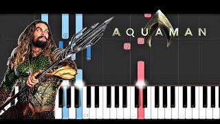 Download Skylar Grey - Everything I Need - Aquaman Soundtrack (Piano Tutorial) Mp3