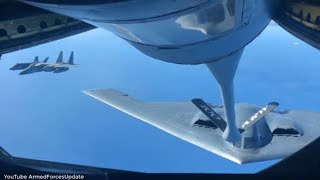 WORLDS MOST POWERFUL Air force US Military F-22 Raptors put on a show of power