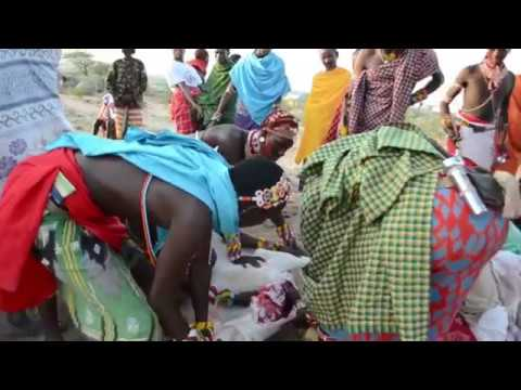 Samburu modern and traditional wedding same day........... Fatherlandfilms production,,,,