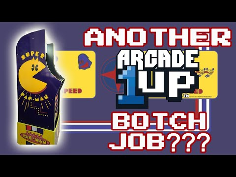 ARCADE 1UP SUPER PAC-MAN-Did they BOTCH IT??? from therexershow