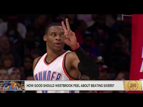 How Good Should Russell Westbrook Feel About Beating Sixers?
