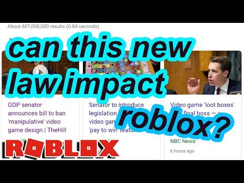 this NEW law might stop SIMULATORS on ROBLOX...