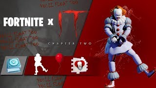 the New FREE IT 2 ITEMS in Fortnite (Fortnite x IT Chapter 2)