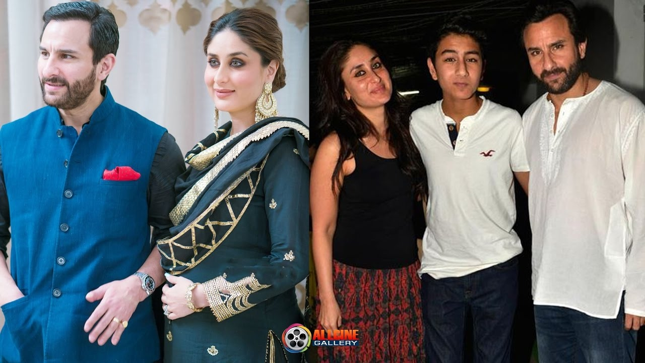 Kareena Kapoor & Saif Ali Khan family Photos with Son ...