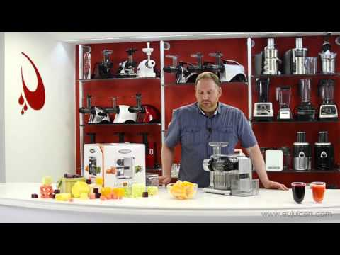 Omega Juice Cube Juicer 300S - Product Overview