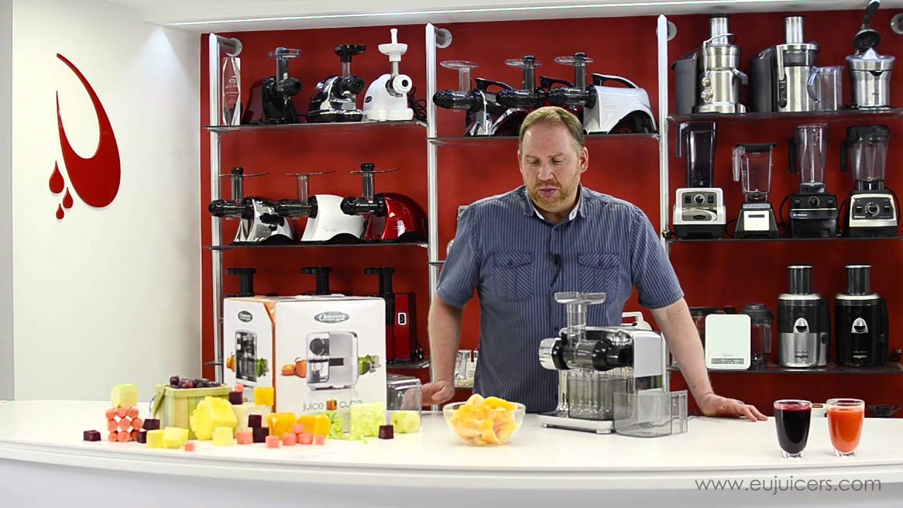 Omega Juice Cube Juicer 300S Product Overview