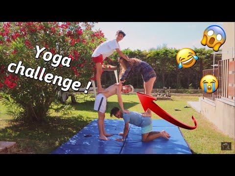 YOGA CHALLENGE ! Enzo Tais Toi, Agathe  & Hugo Small ! *EXTREME* thumbnail