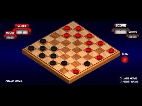 Игра шашки онлайн