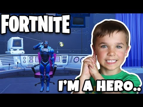 LIVING IN A HERO'S MANSION / FORTNITE DUOS