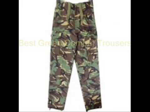 Popular Green Combat Trousers
