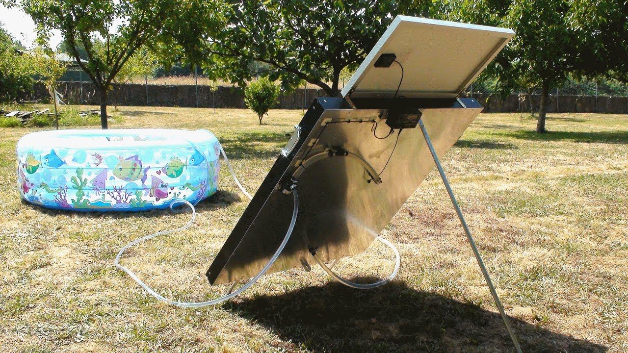 Calentador solar casero homemade solar heater youtube for Calentador solar piscina casero