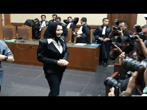 Rita Widyasari Dan Khairudin Kompak Tolak Dakwaan Jaksa Penuntut  Umum