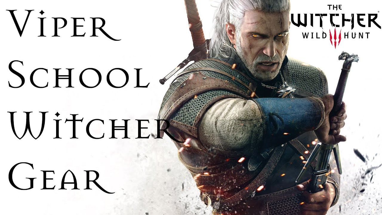 how to get the viper gear in the witcher 3