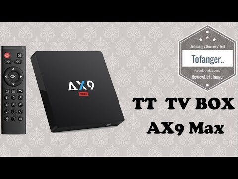TT TV BOX Android AX9 Max