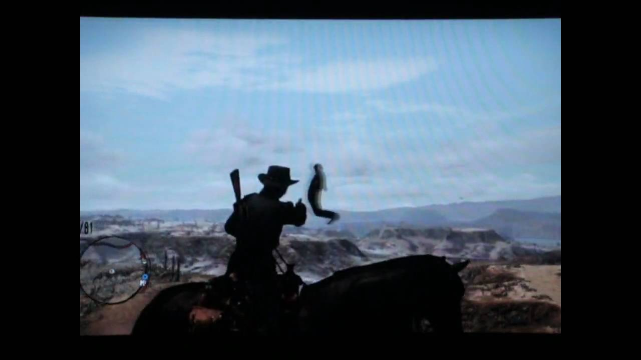 Red Dead Redemption - Bird People Glitch