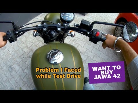 PROBLEM IN JAWA 42 | JAWA 42 | JAWA 42 TEST RIDE | JAWA 42 TOP SPEED | VBO Life