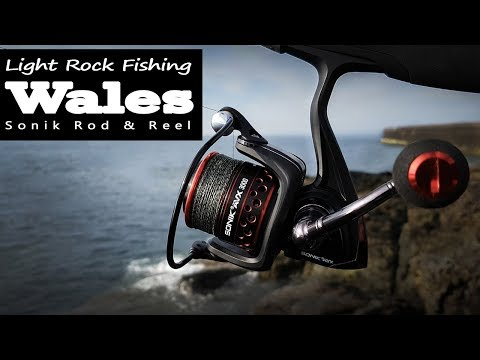 Light Rock Fishing Anglesey North Wales