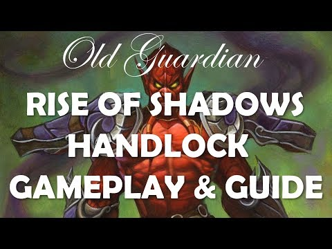 Handlock deck guide and gameplay (Hearthstone Rise of Shadows Warlock)