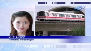 Lightning strike stalls MRT operations - 29Sep2013