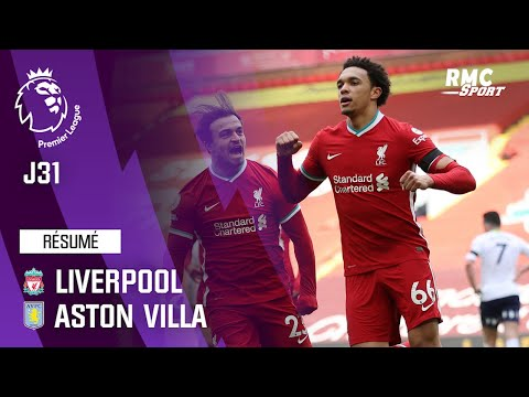 Résumé : Liverpool 2-1 Aston Villa – Premier League (J31)