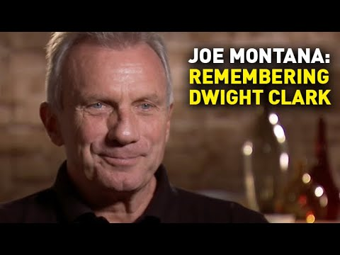 Full Interview: Joe Montana on His Love for Dwight Clark