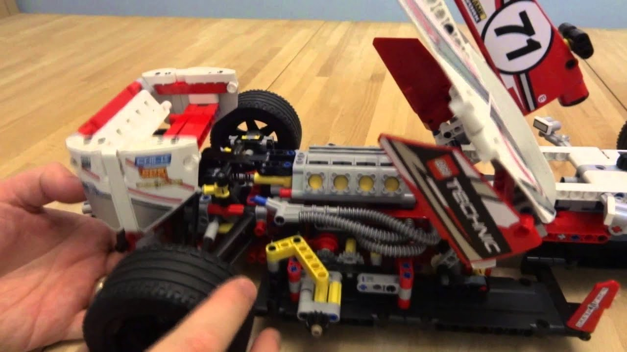 lego technic 42000 grand prix racer power function demo youtube. Black Bedroom Furniture Sets. Home Design Ideas