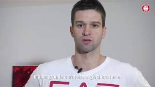Mantas Kalnietis prima di Olimpia Milano - Zalgiris Kaunas