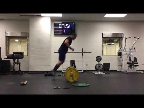 Tyler Hansen CrossFit open 18.2