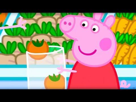 Свинка Пеппа на русском все серии подряд | Пеппа помогает с покупками | Мультики
