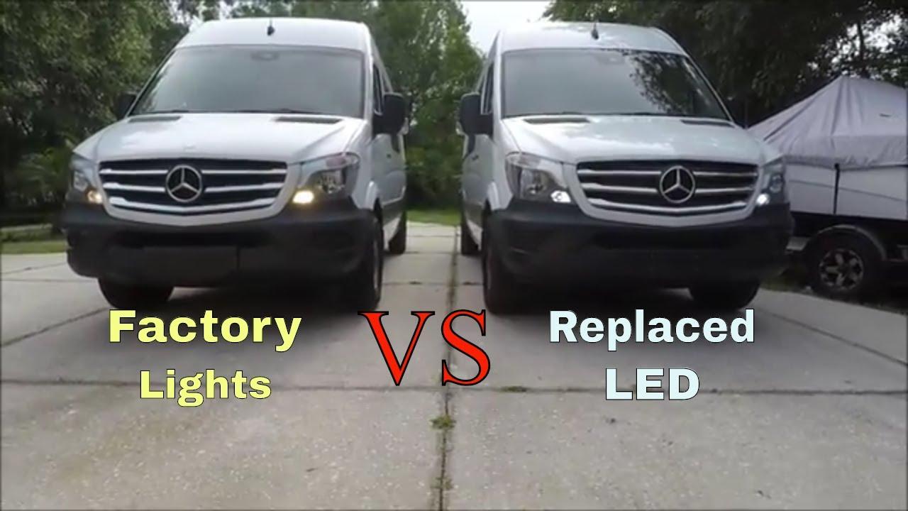 Mercedes Sprinter Led Running Lights Diy Rv Conversion New