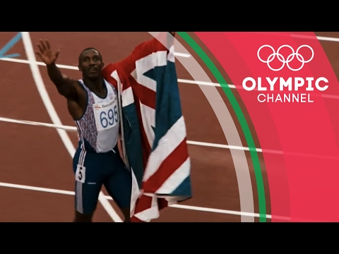 A Special Trick Helped Linford Christie Win Gold at…