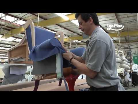 lynplan upholster a parker knoll penshurst 720 chair youtube