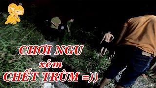 Thanh niên CHƠI NGU đốt rác đêm 30 và cái kết - Xe Ôm Vlog