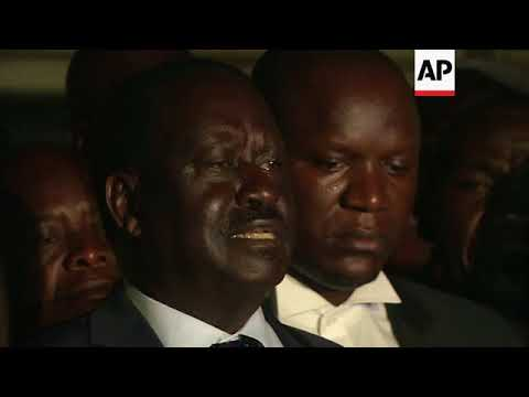 Kenyan opposition leader welcomes court decision